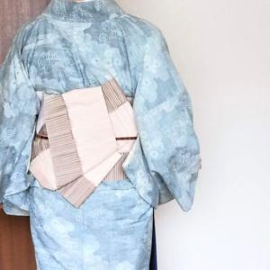 胴抜きの結城紬はワケアリ着物~4月最後の着物
