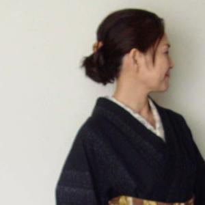 居酒屋着物~木綿の着物に大島の長襦袢!?リメイク用着物の活用術