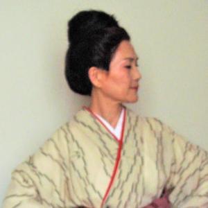 衣裳~琉球絣着物とウチナ―カンプ―、ボランティアでのひとコマ・・(活動日2019,7,14)