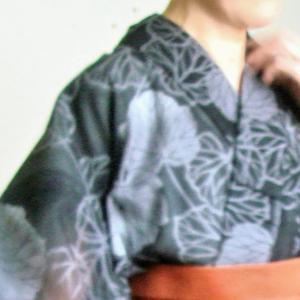 綿絽の浴衣は着物と兼用