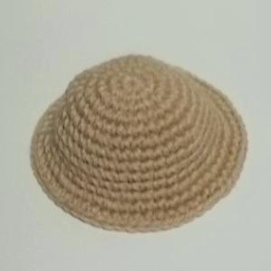 人型あみぐるみ 女の子 帽子の制作