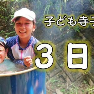 第10回夏休み子ども寺子屋開幕〜3日目~川を制する者は夏を制する!