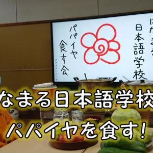 【パパイヤの木オーナー特典】はなまる日本語学校でパパイヤ料理をいただいてきた件