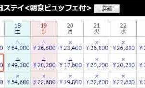 ホテルピエナ神戸のスイートルームに2名で合計約9千円で宿泊