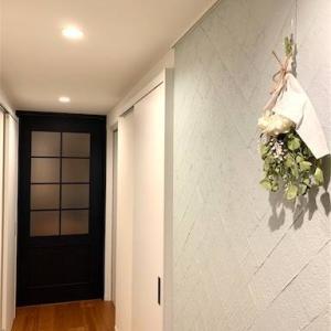 【リノベ後Web内覧会】⑭こだわりの廊下とクラフトレーベルのリビングドア