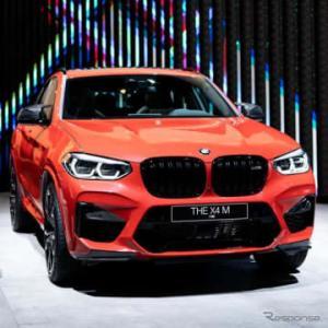 BMW X4 新型、初の「M」は510馬力…フランクフルトモーターショー2019