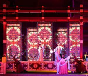 盛唐文化をテーマにした舞台劇「大唐追夢」 西安で上演