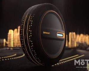 コンチネンタル 未来に向けた新タイヤ「コンチ・ケア」を展示【東京モーターショー2019】