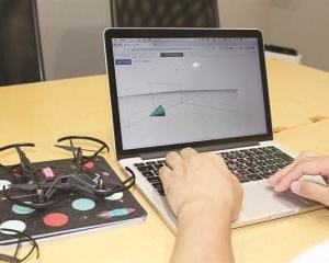 アプライトネス ドローンのプログラミング教材開発 オンライン学習向け教育必修化に対応