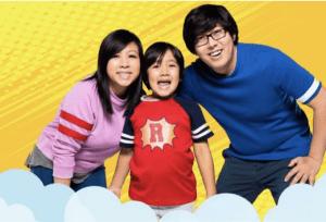 世界で最も稼ぐ8歳のYouTuber、台風の被災地へ1千万円を寄付