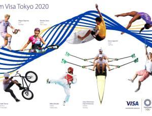 ビザ、東京2020オリンピック・パラリンピック競技大会に先立ちチーム・ビザのアスリートを発表