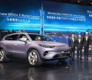 ダイムラーとBYDの電動SUV、デザインはメルセデスベンツ…広州モーターショー2019