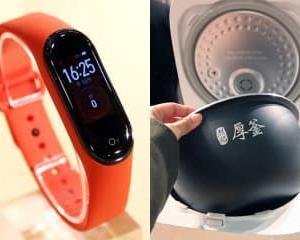 Xiaomi、20日駆動スマートバンドや外から操作できるIoT炊飯器など。日本参入に強い意気込み