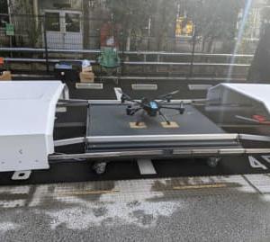 センシンロボティクス/住商物流施設でドローンシステム実証実験
