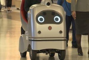空港に1人乗り自動運転モビリティ 高齢者も楽に移動
