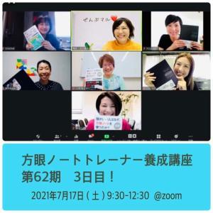 【開催報告】第62期 方眼ノートトレーナー養成講座を開催しました!