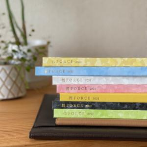 時間の使い方が上手になる【2022年度のFORCE手帳】全7色をご紹介!