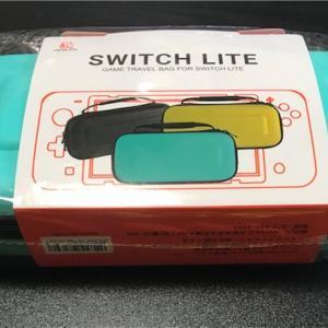 【Nintendo Switch Liteの収納におすすめ!】衝撃に強くゲームソフトが10枚収納できるNintendo Switch Lite専用ケースを購入しました♪