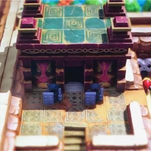 【ゼルダの伝説・夢を見る島プレイ日記その21】新しいダンジョンの顔の神殿に挑戦 ╭( ・ㅂ・)و̑ パワーアップアイテムも発見しました♪( ´▽`)