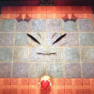 【ゼルダの伝説・夢を見る島プレイ日記その22】顔の神殿の攻略後編。ようやくボスとの対決へ!おしゃべりのせいで・・・(笑)