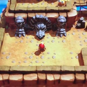 【ゼルダの伝説・夢を見る島プレイ日記その27】最後のダンジョンを探しに西の山に向かいます。そこには強敵が待ち構えてました(>_<)