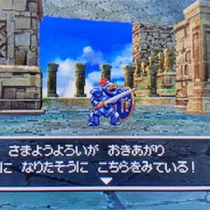 【ドラクエ5DS版攻略その10】神の塔で仲間集め(^^♪ラーの鏡を持ってラインハットへ戻ると...