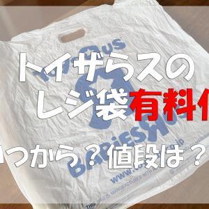 トイザらスのレジ袋有料化へ!いつから実施?値段はいくら?