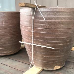 憧れのメダカ鉢を、植木鉢で作る!! ②