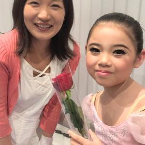 バレエの発表会でプレゼントに大感激!!小原りょうこ先生作・ヴァイオリンの『顎あて』