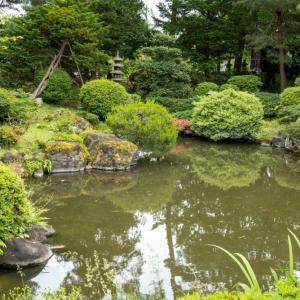 会津3大庭園の1つ「可月亭庭園美術館」で癒しのひとときを味わってきた..!