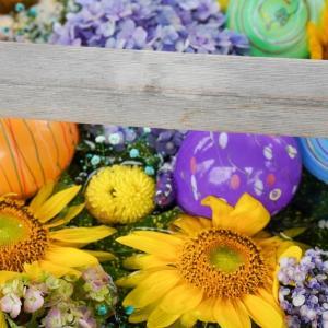 【写真で観光】郡山市の豊景神社で夏の花手水を楽しんできました!