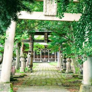 【秋詣】会津総鎮守、諏訪神社(すわじんじゃ)を参拝しました!