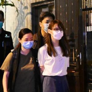 動画「香港・周庭さん逮捕」香港情報8/11