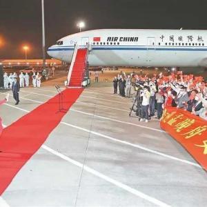 動画:中国ファーウェイ「孟晩舟」副会長兼最高財務責任者がカナダで釈放され帰国の途に