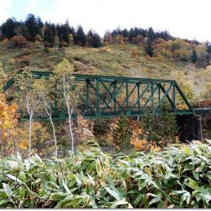 旧深名線「ポンコタン鉄橋」