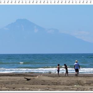 利尻島と海~!