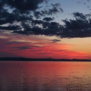 サロマ湖で月見と夕景!