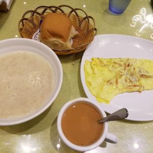 【マカオ・香港201905】 香港式朝食はやたらと英国の香り