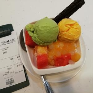 【マカオ・香港201905】 松記糖水店(佐敦分店) 冷たいマンゴースイーツ堪能