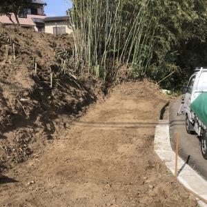 竹切と竹処理とごみ処分