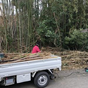 竹切と造成とクリーンセンター行き準備