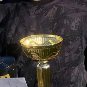 まだ14歳、初U16優勝の記念に。