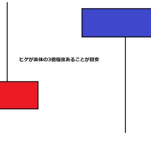 【トレード手法】ピンバーでトレンド転換を狙う!!