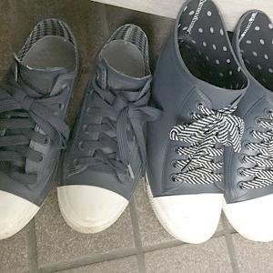 長靴での体育授業
