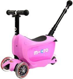 【2wayで長く使える 】1歳半から乗れるキックボード「ミニ・トゥーゴー・デラックス」は安全サポート付き