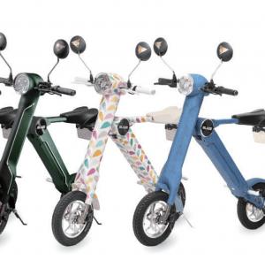 有吉ゼミで注目を浴びた電動折りたたみバイク「BLAZE SMART EV(ブレイズスマートEV)」【公道も走行可能】