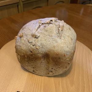 ホームベーカリーでホシノ酵母のカンパーニュ風食パン
