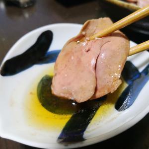 レバ刺しが食べたい…超簡単に低温調理で鶏レバ刺しを作ったよ!