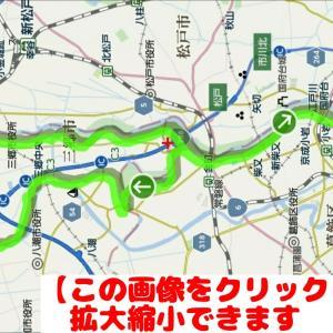 サイクリング動画日記、江戸川サイクリングロードや三郷市内をナイトサイクリング