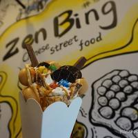 【トゥール・アジアンフード】Zen Bingで香港エッグワッフル鶏蛋仔 を食べよう!